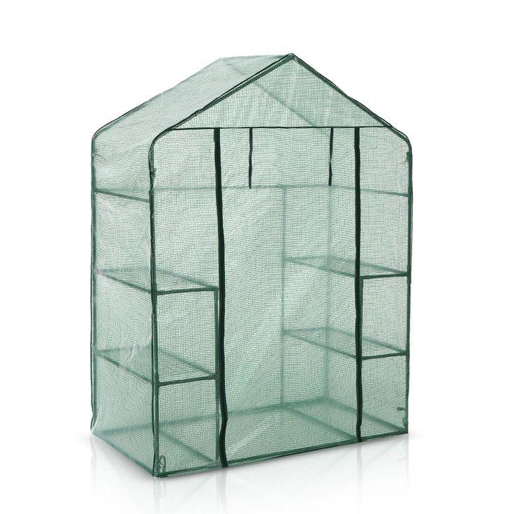 iKayaa Outdoor Garden 3 Layer Mini Walk In Greenhouse W/ 4 Sales Online - Tomtop.com