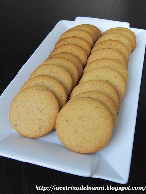 Biscotti al Cioccolato Bianco Arancio e Pistacchi