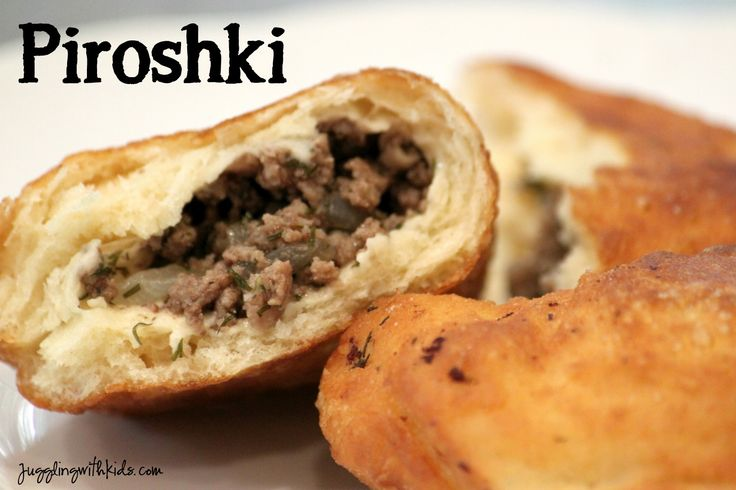 My mum used to make these every Christmas, but her recipe was called Nola's Russian Pies. I am definitely making them this Yule! These are great with a dipping sauce (we used spiced homemade ketchup). // Juggling With Kids: Around the World in 12 Dishes: Russia: Piroshki