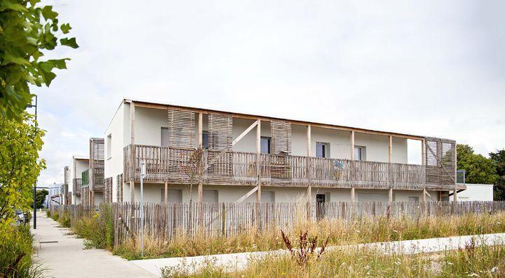 Détroit Architectes, huit logements sociaux à Trignac (44)