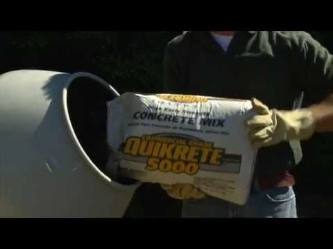 QUIKRETE® 5000 Concrete Mix (No. 1007) is a commercial grade blend of stone or gravel, sand and cement specially designed for higher early strength. Ideal for cold weather application. Achieves 5000 psi after 28 days.