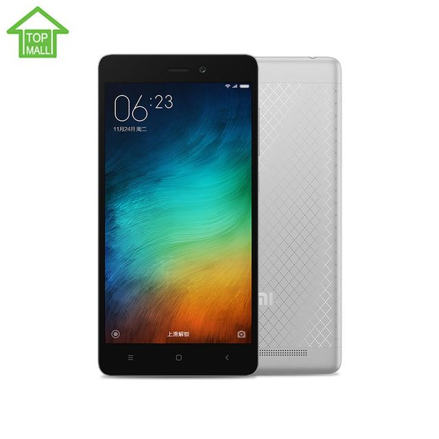 """Original Xiaomi Redmi 3 4100 mAh Snapdragon 616 Octa Core 5"""" 2G RAM 16G ROM 1280X720 FDD LTE Mobile Phone US $139.99-175.99 /piece Specifics Unlock PhonesYes Recording Definition1080P Display ColorColor Brand NameXiaomi ThicknessUltra Slim(<9mm) DesignBar CPUOcta Core CellularGSM/WCDMA/LTE Display Resolution1280x720 Touch Screen TypeCapacitive Screen Display Size5.0 Google PlayYes SIM Card QuantityDual SIM Cards Release Date2015 RAM2G  Click to Buy :http://goo.g"""