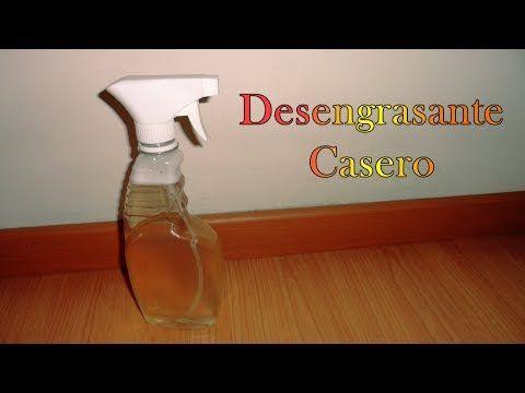 Desengrasante Casero - YouTube