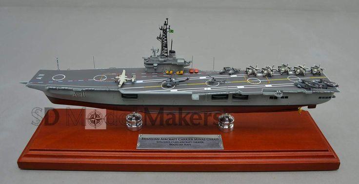 Brazilian aircraft carrier 12 replica model nael minas for Replica mobel england