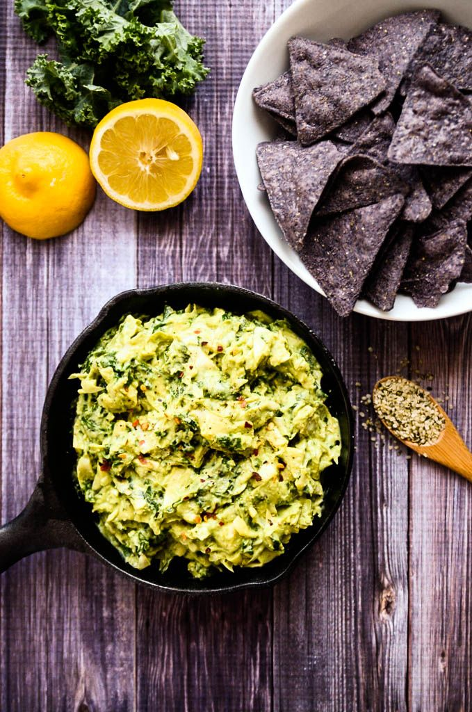 I'm so excited to introduce you to my new favorite recipe: Creamy Avocado, Artichoke + Kale Dip. This dip is out-of-this-world-amazing. Yesterday, I gotwrapped upin anotherblog project forhours...