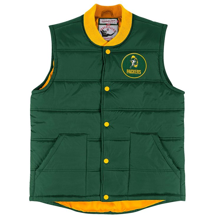 Green Bay Packers Play Clock Vest at the Packers Pro Shop