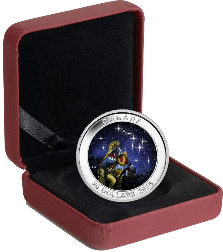 Item specifics    									 			Circulated/Uncirculated:   												Uncirculated  									 			Country/Region of Manufacture:   												Canada   							 							  2015 $25 CAD Star Charts The Quest Royal Canadian Mint 1 oz Silver Coin  Price : $69.99  Ends on : 3 days Order Now