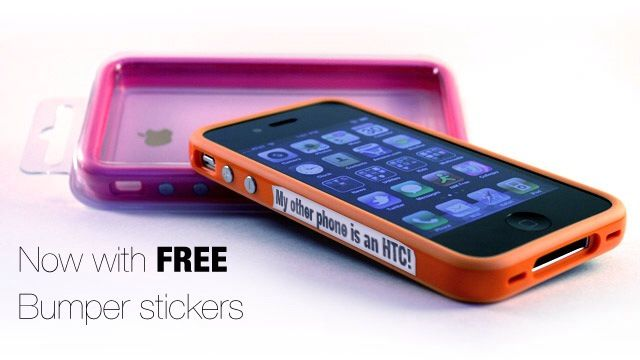 Free iPhone 4 bumper sticker