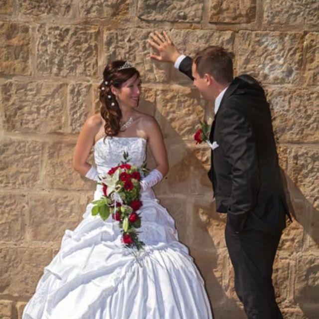 Die Braut war sehr pingelig