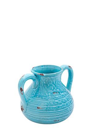 "This ceramic urn vase has a crackle finish and can be used as a decorative feature in any home.<div class=""pdpDescContent""><BR /><b class=""pdpDesc"">Dimensions:</b><BR />W28xH19.5 cm</div>"