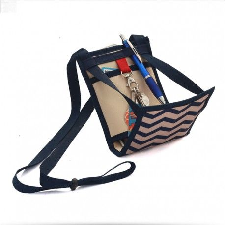 Ti Sac Chevron - [EN] a small handbag for your everyday life or a substitute for your bum bag - pattented product - [FR] un petit sac à main pratique pour votre quotidien ou vos voyages - Produit breveté - Made In France #petit_sac_pratique #bumbag #pochette_voyage. More/Plus > https://www.tisac.shop/letisacmarin/9-ti-sac-chevron.html