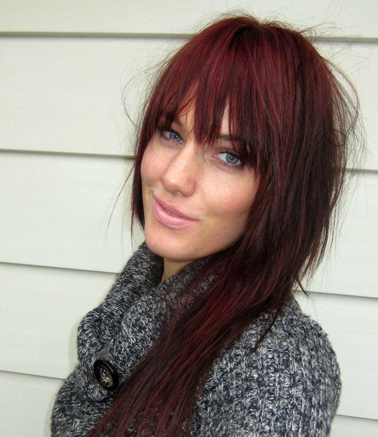 Burgundy Hair | ... BEAUTY BLOG Project Burgundy Hair | Revlon ColorSilk In Burgundy 48 * I ...