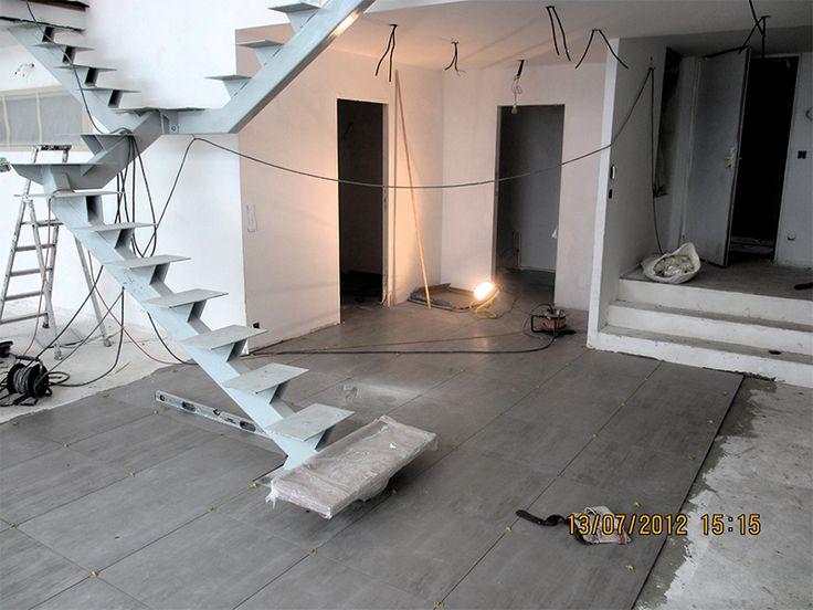 Création d'un loft dans des anciens ateliers Colombes 92 - agenceo2.fr