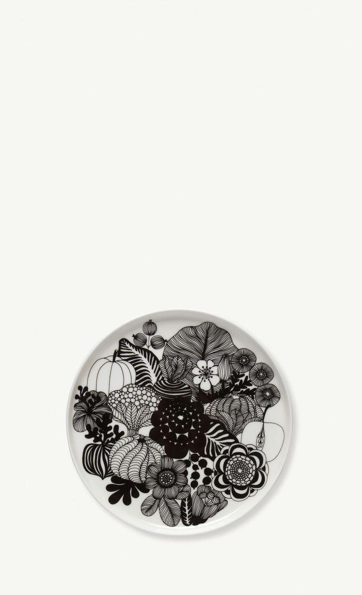 Oiva/Siirtolapuutarha -lautanen 20 cm
