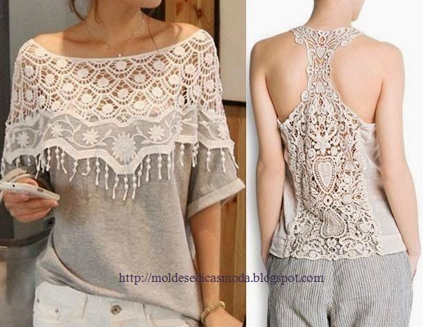 Moda e Dicas de Costura: RECICLAGEM DE T-SHIRTS