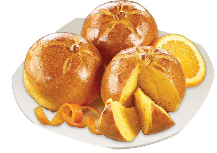 Citrus Morning Buns With Freshly Squeezed Orange Juice
