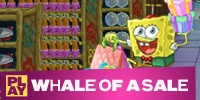 SpongeBob - Whale of a Sale - free online game at YTV Games - brings back memories of working retail!