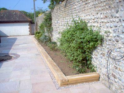 patio lawn borders - Google Search