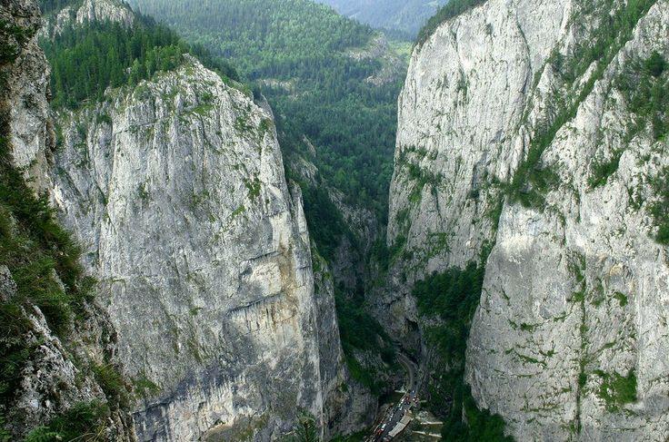 Cheile Bicazului , ROMANIA .