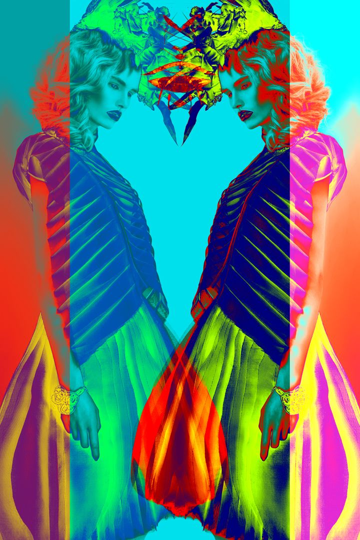 """Mystery tour with Magda"" editorial for Kaltblut Magazine photo - koty2 model - Magda Roman/ D'vision stylist - Anna Jandura make-up and hair - Sylwia Smuniewska Skirt and blouse from Mimesis collection - Kamila Gawrońska - Kasperska jewellery - Lewanowicz black garland - Pat Guzik"