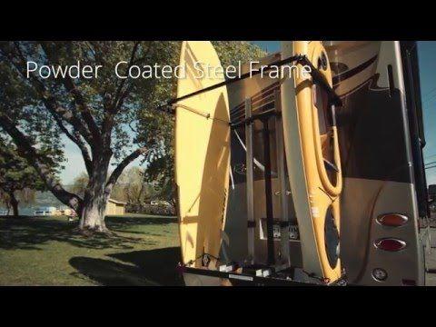 YAKUPS BRAND RVKYAKRACKS.COM The Original Vertical RV Kayak Racks