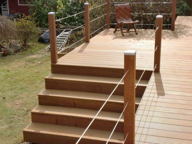 Die besten 25+ Holzterrassen Ideen auf Pinterest Holzbänke - terrassen bau tipps tricks