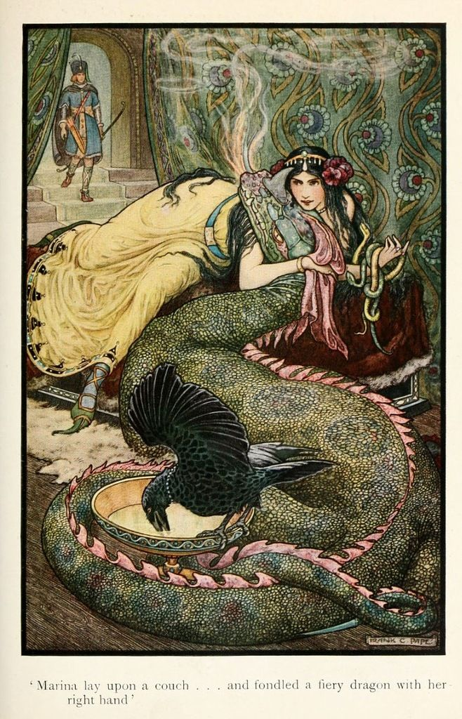 Temporary pin.   russian fairy-tale: Story Books, Illustrations, To Become A Dragon, Art, Stories Books, Cheyn Papé, Frank Cheyn, Russian Stories, Fairies Tales