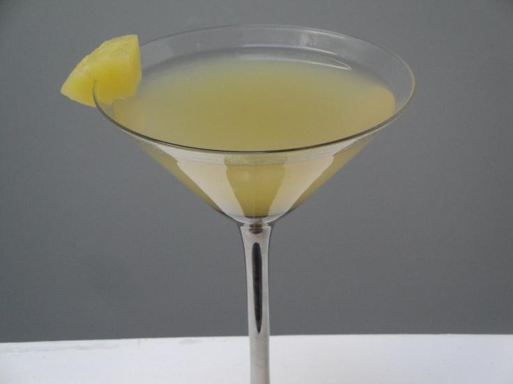Pineapple Upside Down Cake Martini Adult Drinks