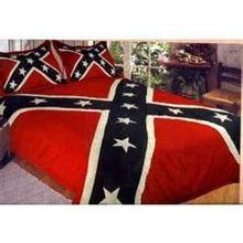 Rebel flag bedding