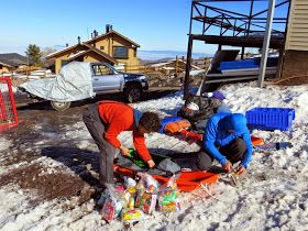 """""""Los Perseverantes"""" Team Blog: Marmolejos Esquiando el Seis mil Mas Austral. Sep, 17 Octubre 07"""