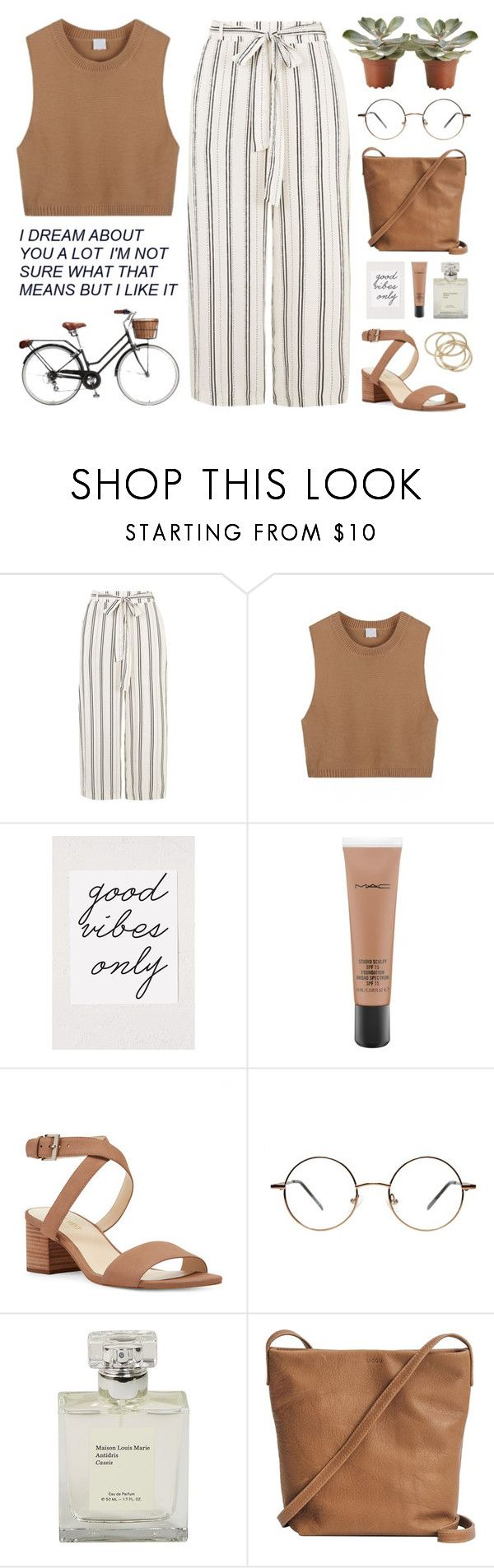 """""""One in a million"""" by tania-maria ❤ liked on Polyvore featuring Retrò, Urban Outfitters, MAC Cosmetics, Nine West, BAGGU and ABS by Allen Schwartz"""