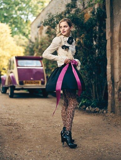 Emma Watson in Teen Vogue Photos | Teen Vogue