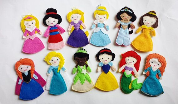 Frozen Anna Disney Princess Felt Air Freshener / by CloudKids