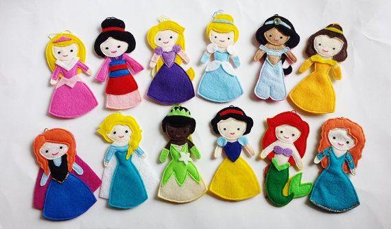 The Little Mermaid Ariel Disney Princess Felt Air by CloudKids