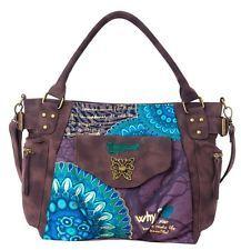2014 Desigual bag blue lady's bag 46X5209 women bag handbag Shoulder Bag