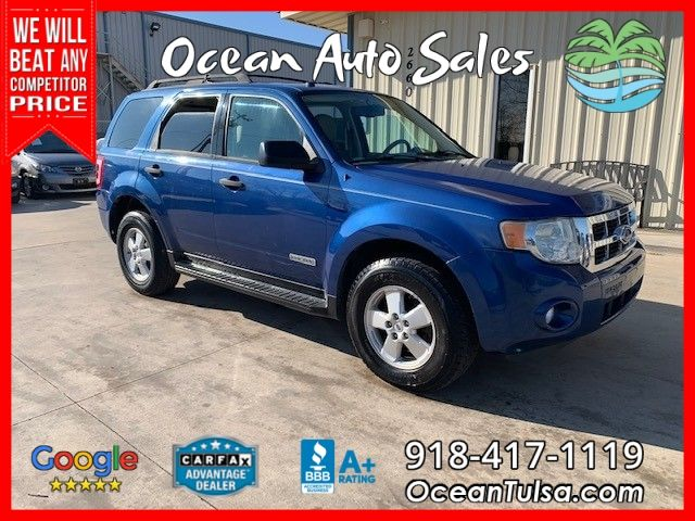2008 Ford Escape 4wd 4dr I4 Auto Xlt Sunroof Good Tires Blue