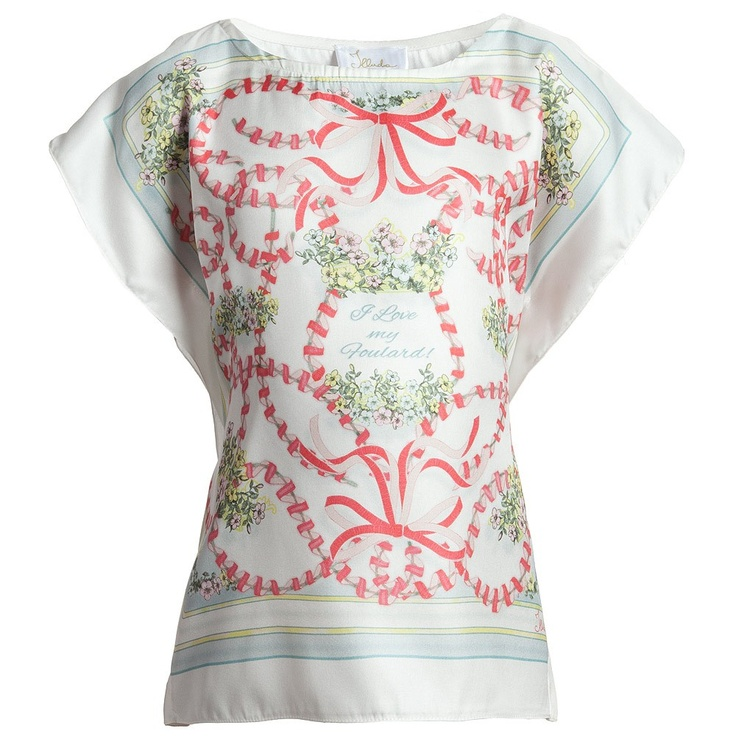 Girls Silky Ivory Blouse - Tops - ILLUDIA SS13