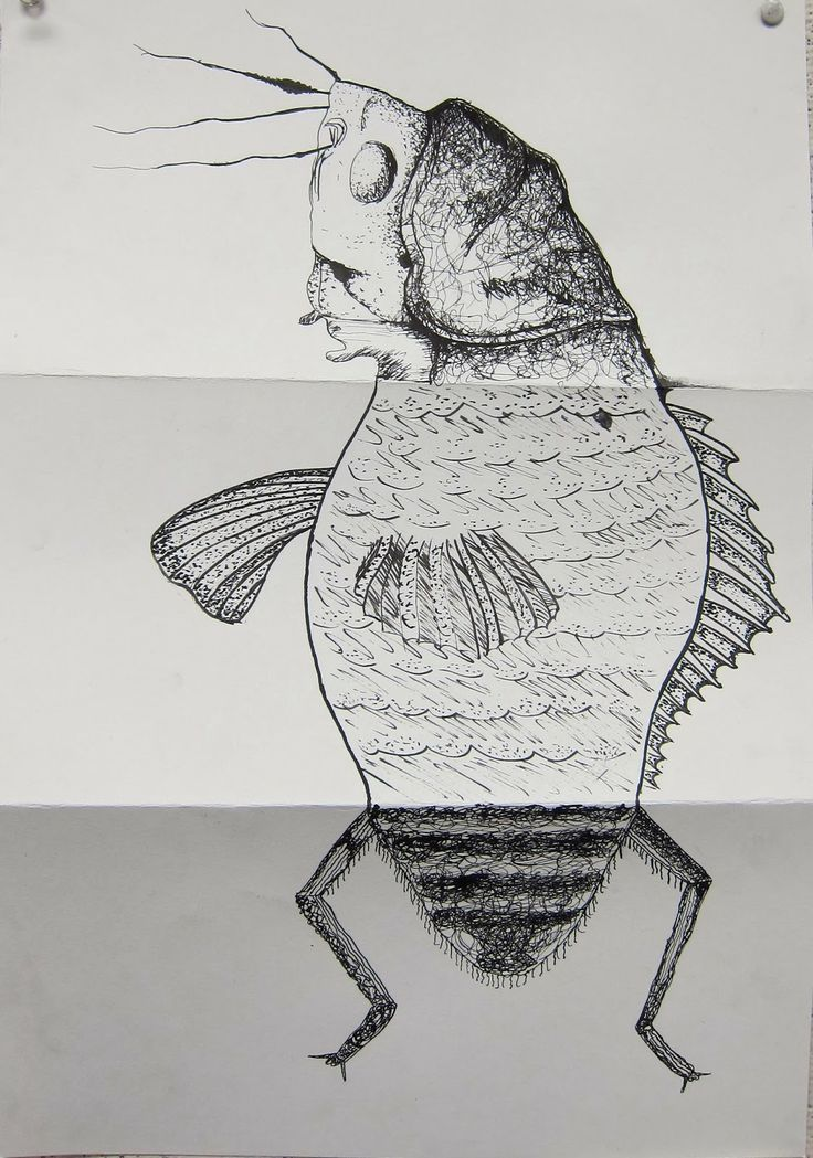 Art7A Beginning Drawing and Composition with William Smith: INK: The Exquisite Corpse