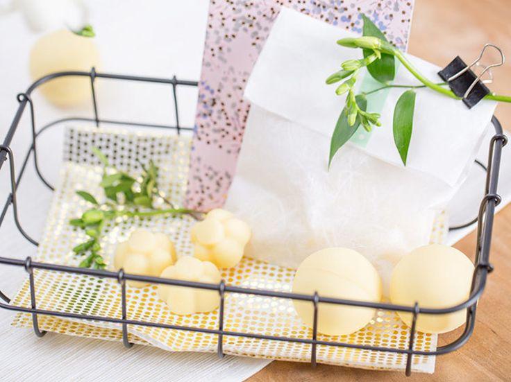 Tutoriel DIY: Faire un baume pour les mains solide pour la Fête des Mères via DaWanda.com