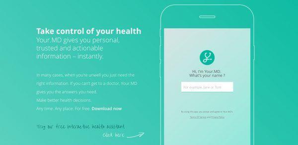Your.MD symptom-checking app is a hypochondriacs dream