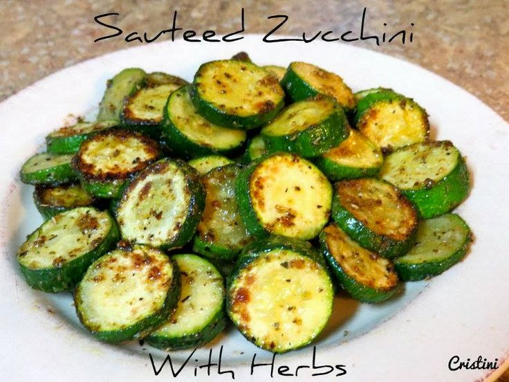Sauteed Zucchini | Vegetable Recipes | Pinterest
