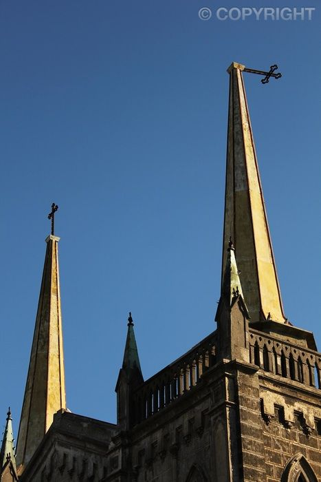 Earthquake Victim - Iglesia de las Carmelitas, Chillán -