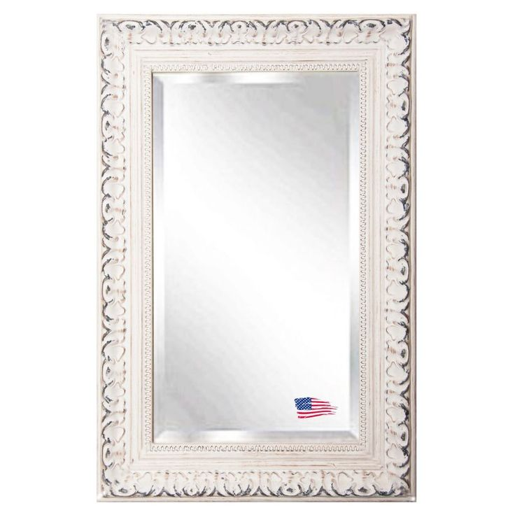 Rayne Mirrors French Victorian White Wall Mirror - R039