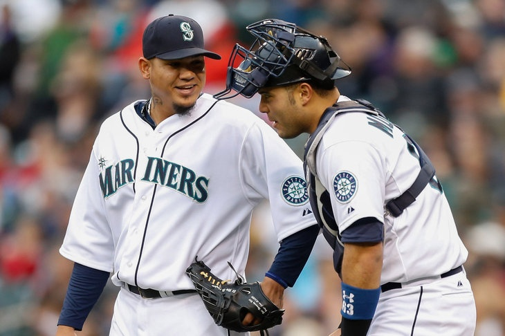 1016 Felix leads Mariners past Angels Mariners