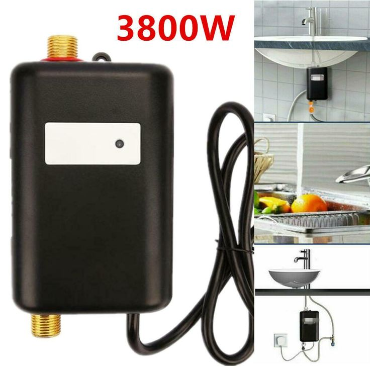 3800w 110v instant electric tankless hot water heater