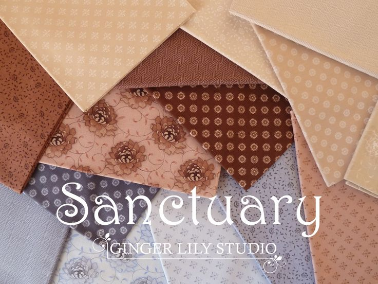 Sanctuary Collection by Ginger Lily Studio