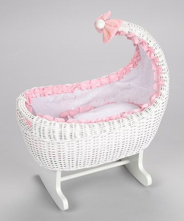 Take a look at this Mirada Doll Rocker Cradle by Regal Doll Carriages on #zulily today!