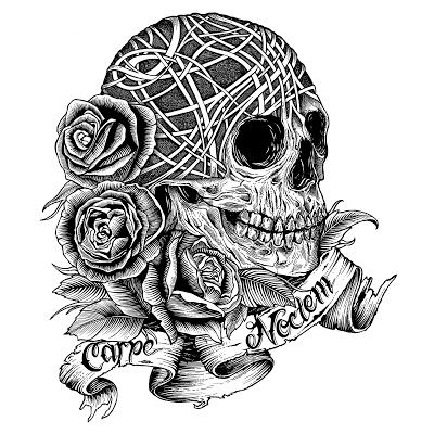 complicolor celtic knot skulls coloring page skull with roses coloring pages printable pages and - Coloring Pages Roses Skulls