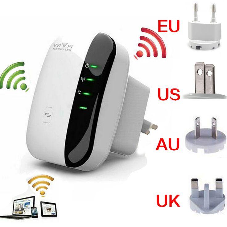 Wireless-n Wi-fi Repetidor 802.11n/b/g Wi Fi Routers de Red de 300 Mbps Range Expander Amplificador de Señal extensor WIFI Ap Wps Cifrado