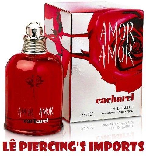 Perfume Amor Amor Feminino 100ml Eau de Toilette Cacharel